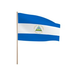 Zwaaivlaggetjes NICARAGUA