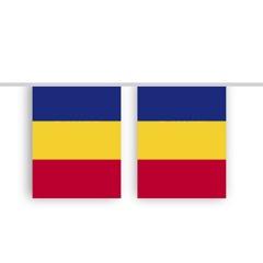 Vlaggenlijn ROMENIE stof