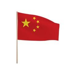 Zwaaivlaggetjes CHINA
