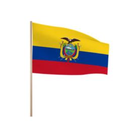 Zwaaivlaggetjes Ecuador