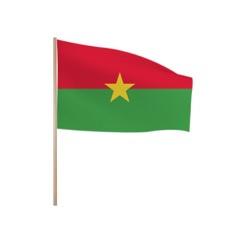 Zwaaivlaggetjes Burkina Faso
