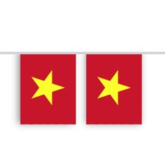 Vlaggenlijn VIETNAM stof