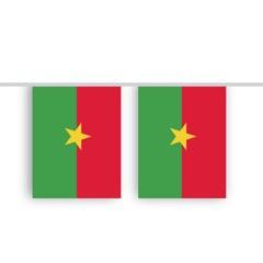 Vlaggenlijn BURKINA FASO stof