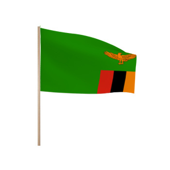 Zwaaivlaggetjes Zambia