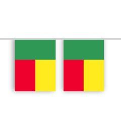 Vlaggenlijn Benin stof
