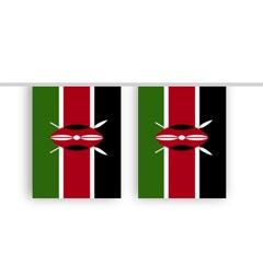 Vlaggenlijn KENIA stof