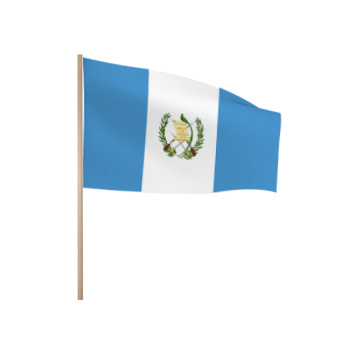 Zwaaivlaggetjes Guatamala