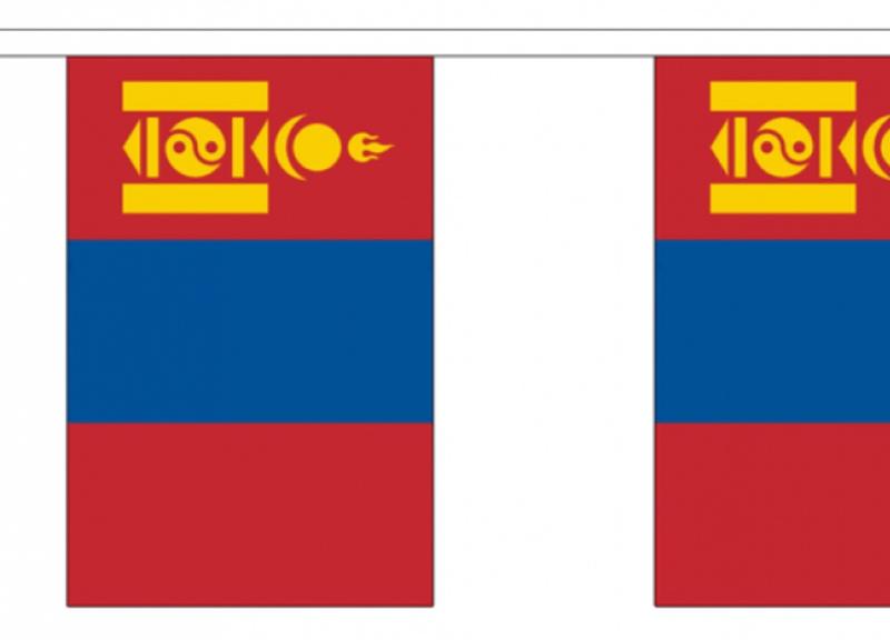 Vlaggenlijn MONGOLIE
