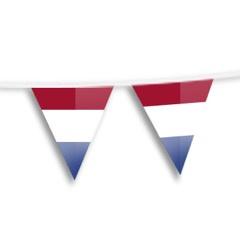 Vlaggenlijn NEDERLAND plastic