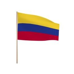 Zwaaivlaggetjes COLOMBIA