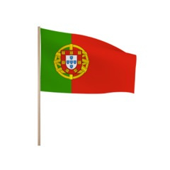 Zwaaivlaggetjes PORTUGAL
