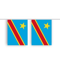 Vlaggenlijn CONGO stof
