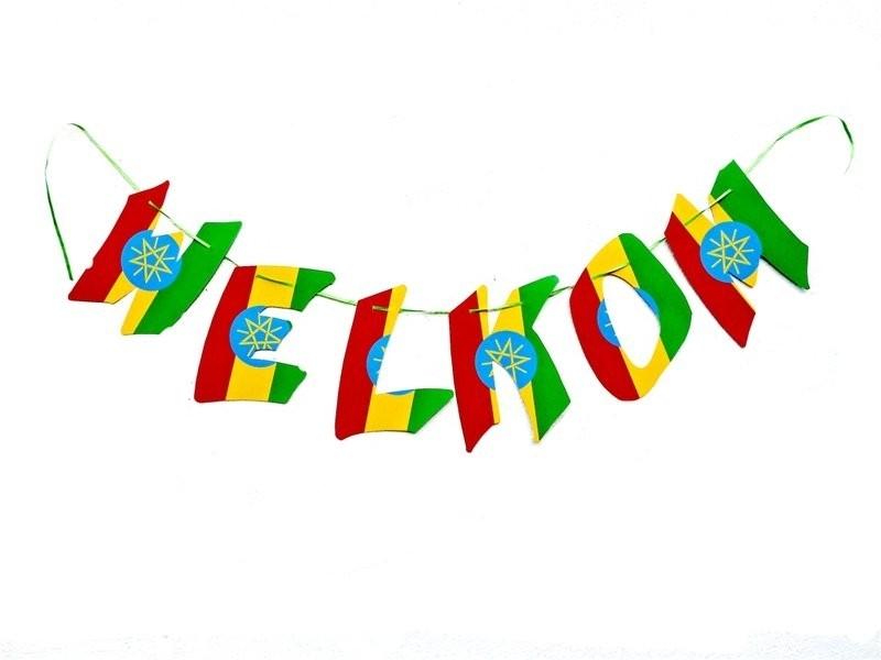 WELKOM banner Ethiopie