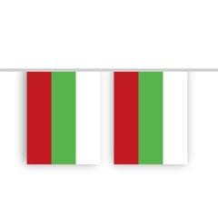 Vlaggenlijn Bulgarije stof