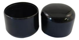 Omsteekdop PVC  6mm Zwart
