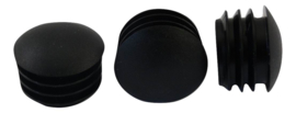 Lenskop inslagdop 10mm zwart