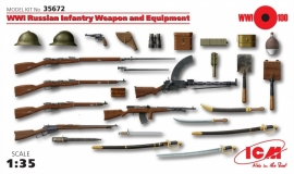 ICM 35672 WW I Russian Inf. Weapon and Equipment