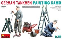 Mini Art 35327 German Tankmen Painting Camo