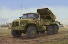 Trumpeter 1014 Russian BM-21 Grad Late Version