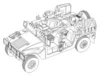 CMK 2001 Hummer IDF
