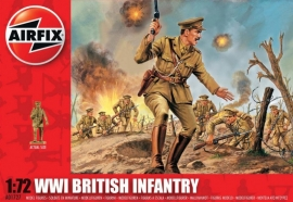 Airfix A01727 WWI British Infantry