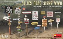 Mini Art 35608 Allied Road Signs WWII