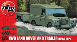 Airfix A02324 LWD Land Rover and Trailer