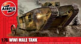 Airfix A01315 WWI Male Tank Mk.I