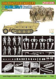 Dragon  7364 LAH Panzergrenadiers w/ Sd.Kfz.251/7 Ausf.D