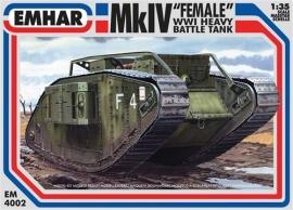 EMHAR 4002 Mk IV WWI Tank