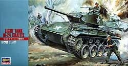Mt19 Light tank M24 Chaffee