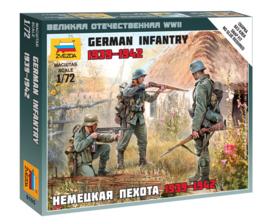 Zvezda 6105 German Infantry 1939-1942