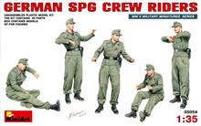 Mini Art 35054 German SPG Crew Riders