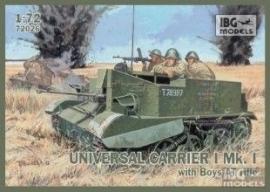 IBG 72026 UNIVERSEL CARRIER I Mk I