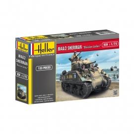 """Heller 79894 M4A2 Sherman """"Division Leclerc"""""""