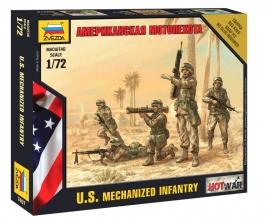 Zvezda 7407 US Mechanized Infantry