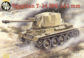 MW 7232 Egyptian T-34 SPG 122 mm