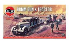 Airfix A02303V 88 mm Gun & Sd.Kfz.7 Tractor