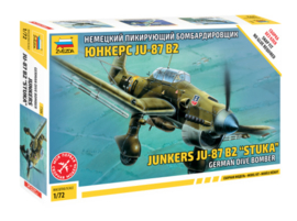 "Zvezda 7306 Junckers Ju-87 B2 ""Stuka"""