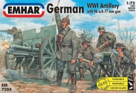 EMHAR 7204 German WWI Artillery