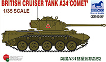 Bronco CB35010SP British Cruiser Tank A34 'Comet'