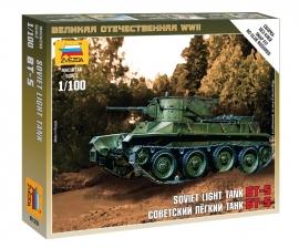 Zvezda 6129 Soviet Light Tank
