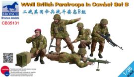 Bronco CB35131 WWII British Paratroops In Combat Set B