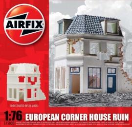 Airfix A75003 European Corner House Ruin