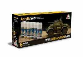 Italeri 440AP WWII Military Allied Army