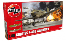 Airfix A05130 Curtiss P-40B Warhawk