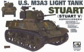 AFV Club 35053 US M3A3 Light Tank