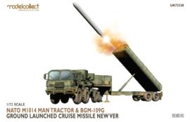 Modelcollect UA72328 NATO M1014 MAN Tractor & BGM-109G