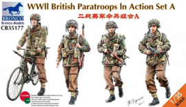 Bronco CB35177 WWII British Paratroops In Action Set A