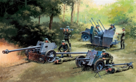 Italeri 7026 German Guns Set